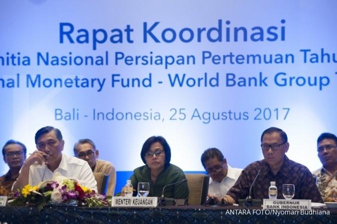 Dana rapat Bank Dunia-IMF Bali capai Rp 810,17 M