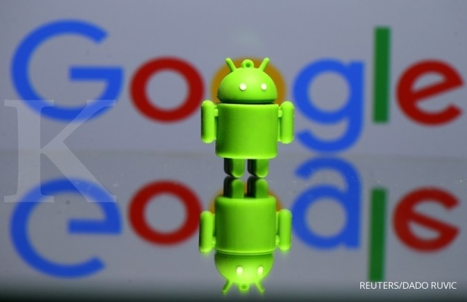 ILUSTRASI: Google Android maskot