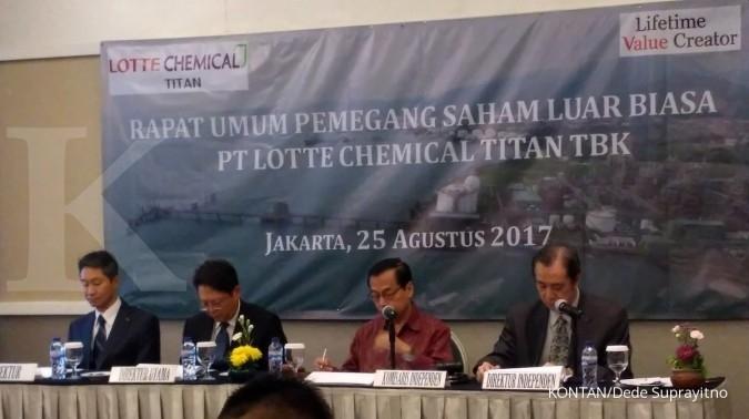Lotte Chemical Titan (FPNI) patok kenaikan penjualan 10% tahun ini