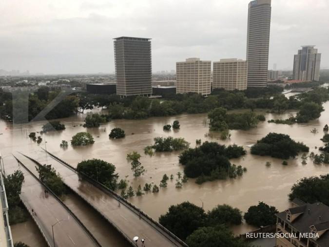 Badai Harvey menggerus permintaan gas alam
