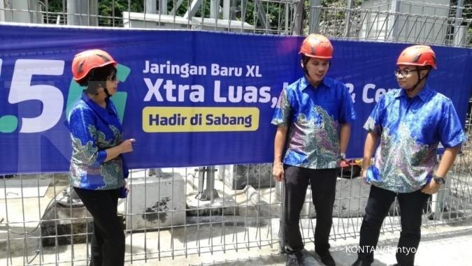 EXCL XL memperkuat sinyal di luar Jawa