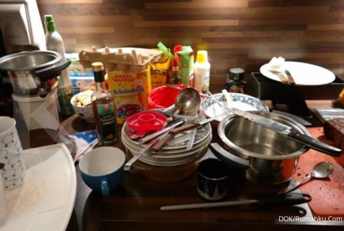 Tips manfaatkan area dapur untuk simpan barang