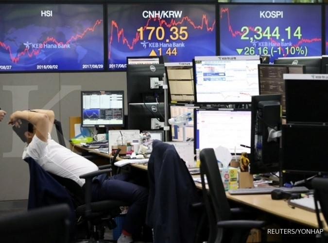 Bursa Asia cenderung menguat