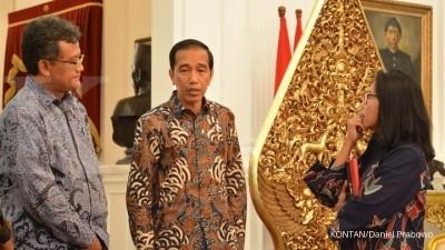 Kelapa hijau, rahasia kebugaran Presiden Jokowi