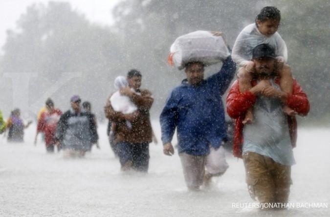 Potensi kerugian Badai Harvey mencapai US$180 M