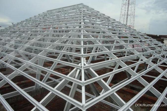 Memilih atap baja ringan untuk rangka bangunan