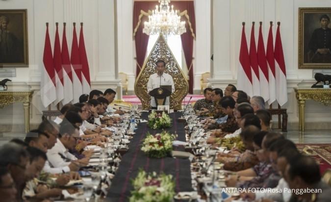 Pengusaha dan menteri merapat ke Istana sore ini