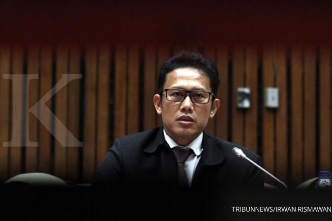 Hadiri rapat pansus, penyidik KPK disidang