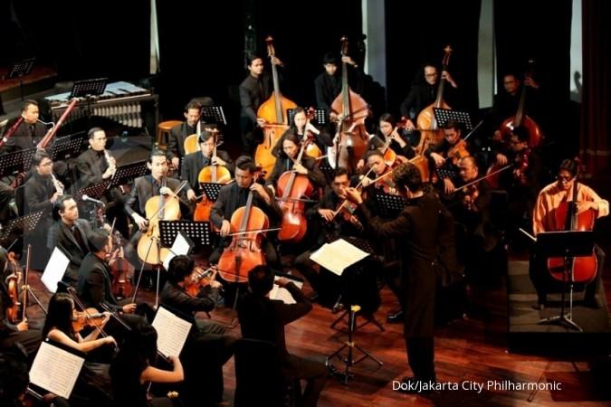 Melepas penat dengan orkestra musik klasik