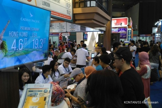 Cek promo tiket Kompas Travel Fair 2017