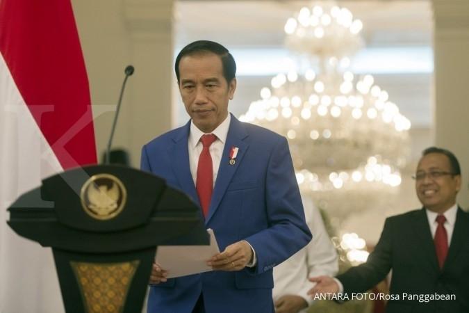 Jokowi: Menteri fokus kerja, tidak usah kampanye