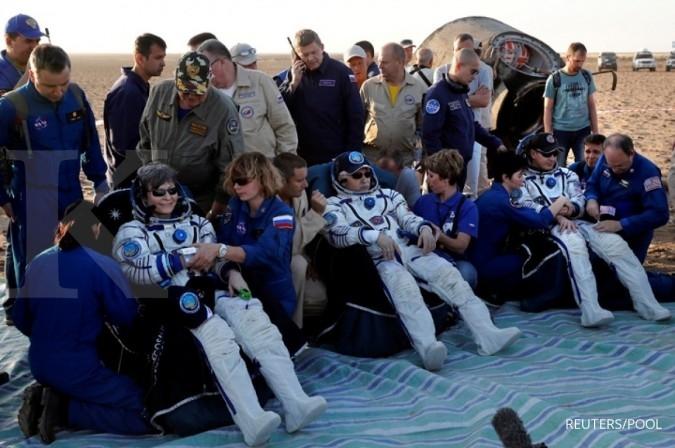 Astronot AS ini mendarat ke bumi setelah 655 hari