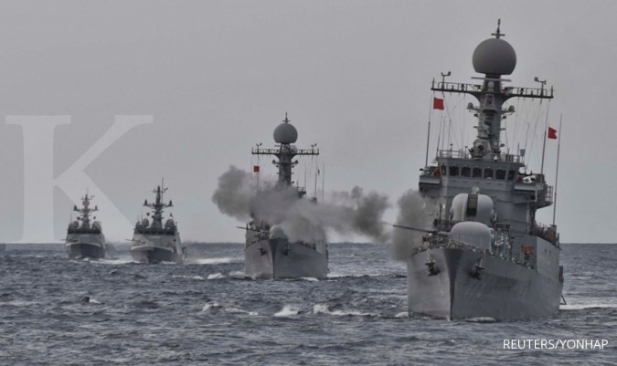 Respons penyitaan tanker oleh Iran, kapal perusak Korea beroperasi di Selat Hormuz