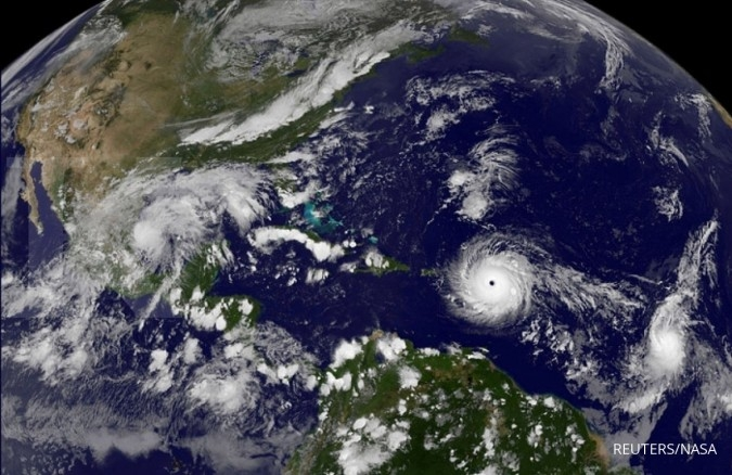Harvey-Irma bisa jadi alasan Fed tahan suku bunga