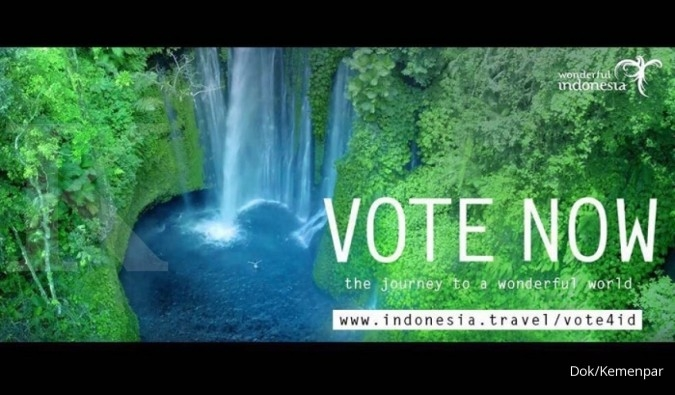 Video Wonderful Indonesia jadi juara dunia