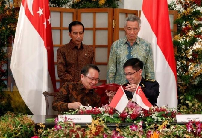Indonesia buat 4 kesepakatan dengan Singapura
