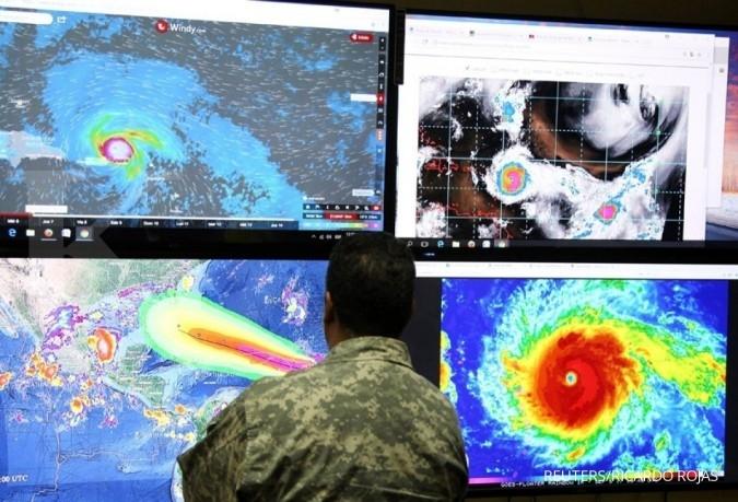 KJRI Houston imbau WNI waspada Badai Irma