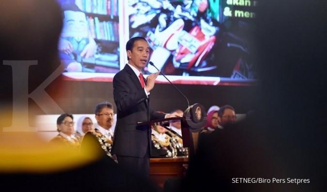 Jokowi menanti surat dari Pansus Angket KPK