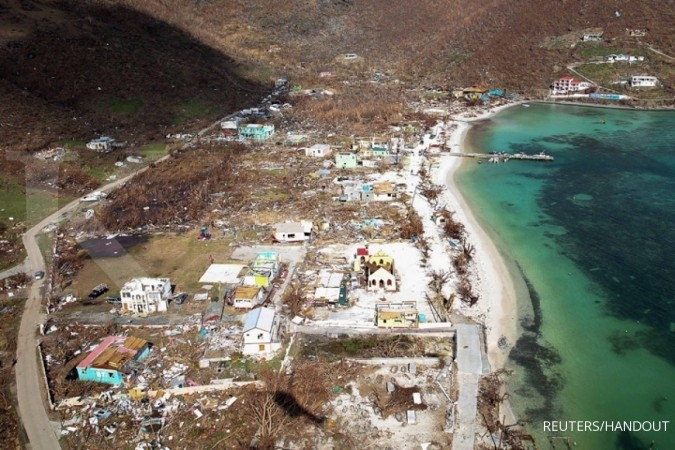 Badai Maria menyapu Dominika