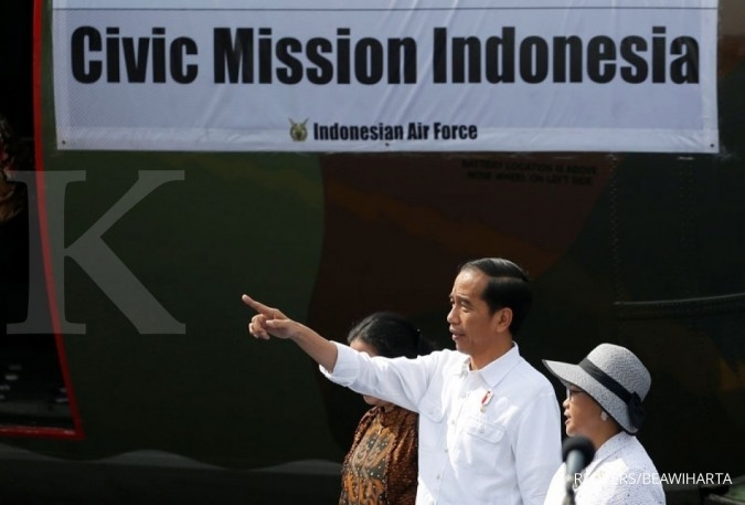 Jokowi dispatches aid to Rohingya refugees