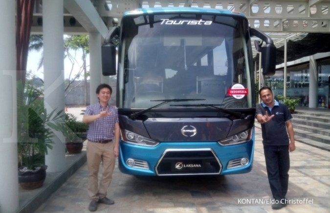 Karoseri Laksana luncurkan All New Tourista
