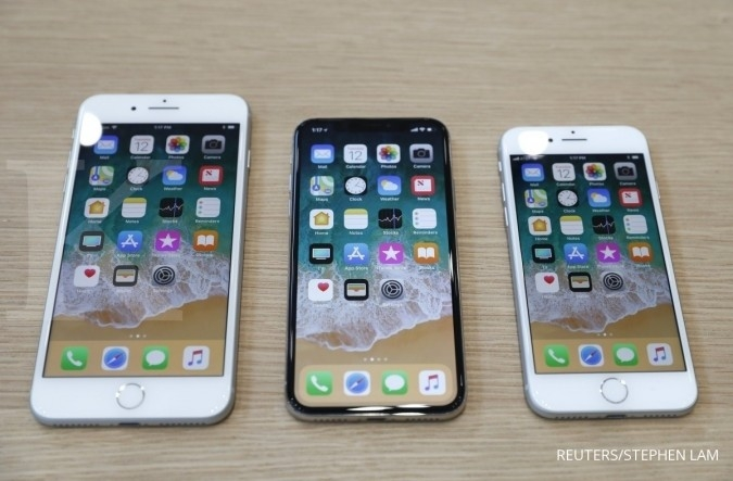 iPhone X akan mulai dijual 3 November