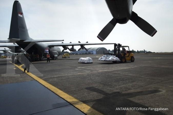 Dua pesawat TNI bantuan Rohingya tiba di Banglades