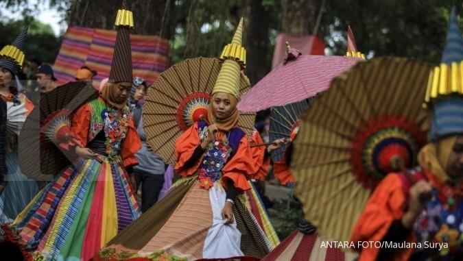 Jangan lewatkan keunikan Festival Payung Indonesia