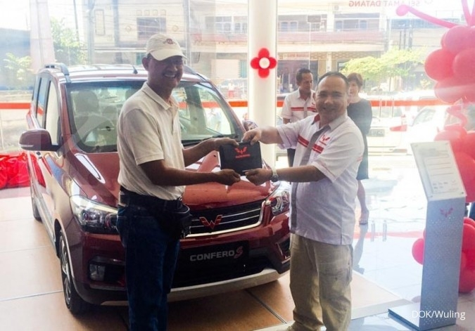 Wuling Motors menyerahterimakan Confero di Bali