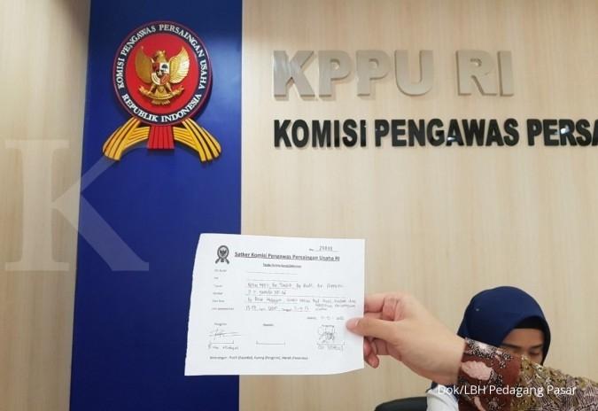 LBH pedagang pasar lapor 2 aturan ke KPPU
