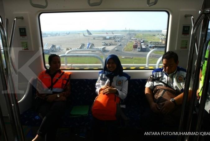 Skytrain Bandara Soetta beroperasi, ini jadwalnya