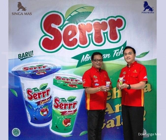 Rilis Serr, Singa Mas target jual 549.000 karton