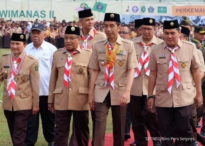 Jokowi: Tantangan datang dari narkoba dan hoaks