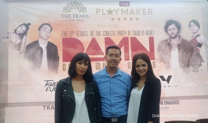 AronChupa siap bikin pecah Dance Music Nation 2