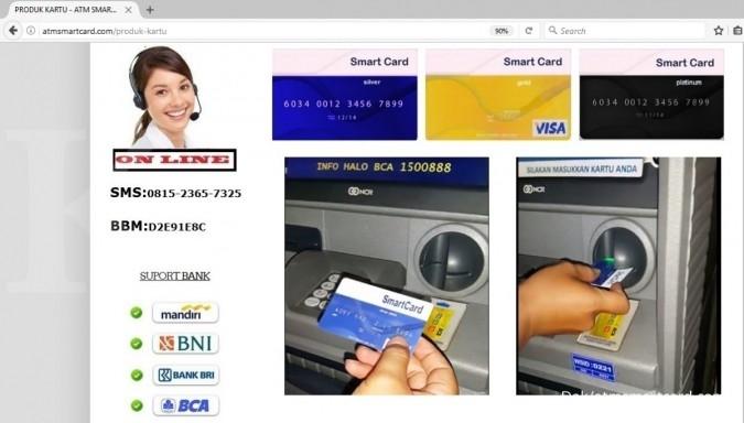 BI pastikan ATM Smart Card penipuan