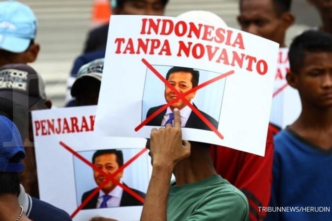 Setya Novanto klaim penetapan tersangka tidak sah