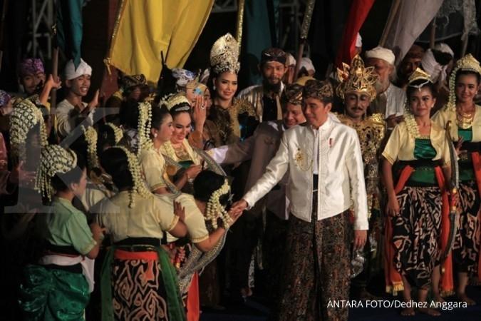 Jokowi minta keraton terlibat pembangunan karakter