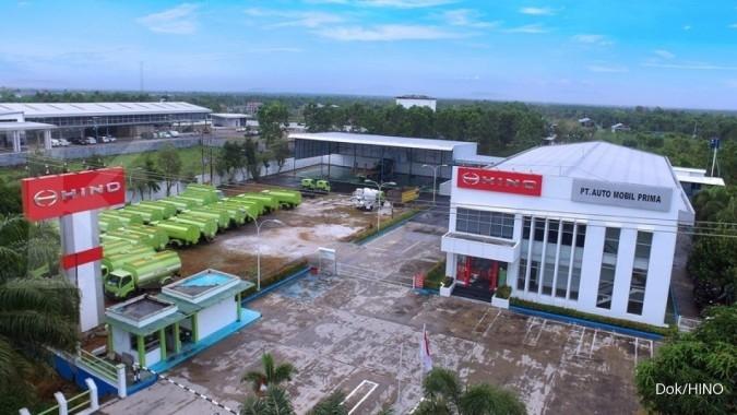 Hino Dutro kuasai 54% pasar truk ringan di Sampit