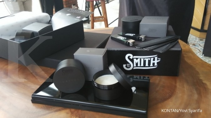 Pomade Smith sampai ke Singapura