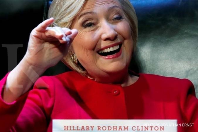 Beredar foto Hillary dan bin Laden di Gedung Putih