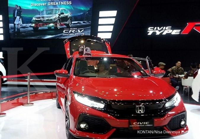 Honda jual 515 unit mobil di GIIAS Surabaya