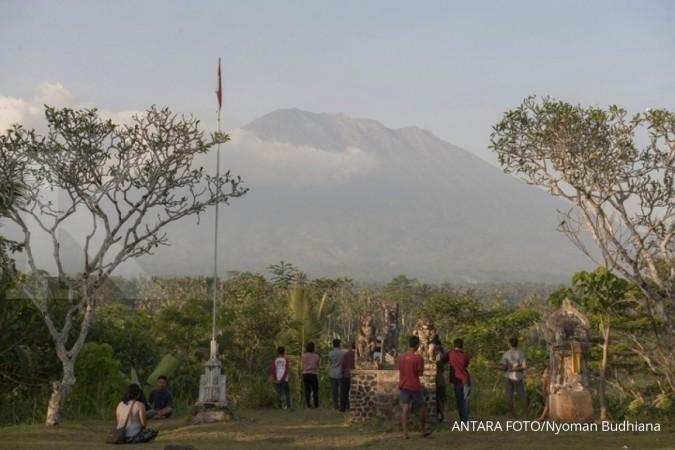 Gunung Agung siaga, wisata Bali masih aman