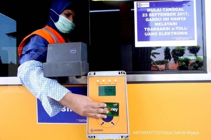 Mulai Senin, uang elektronik di jalan tol gratis