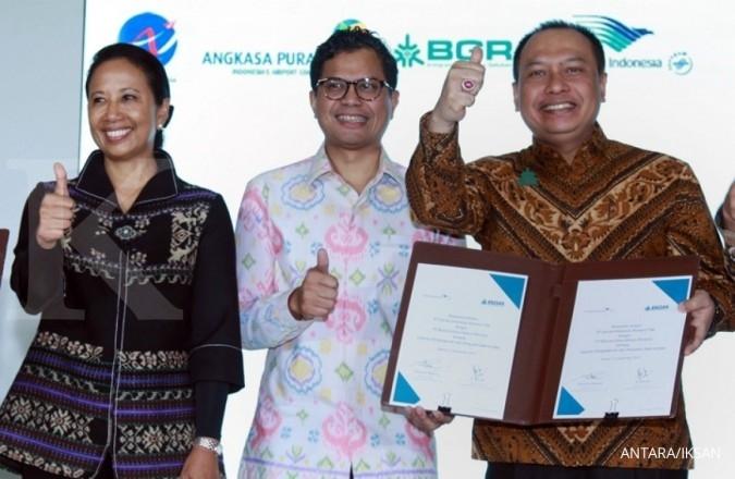 Garuda sinergi dengan 4 BUMN guna genjot bisnis