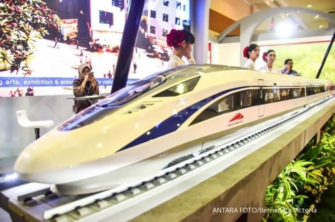 Proyek kereta cepat Jakarta-Bandung dikebut