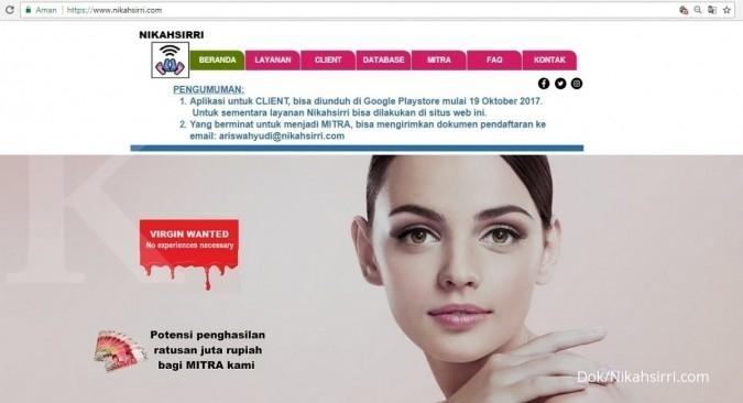 Nikahsirri.com, Kemenko PMK kontrol UU Pornografi