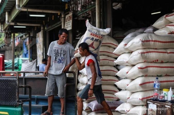 Pasokan beras pasar induk Cipinang berkurang?