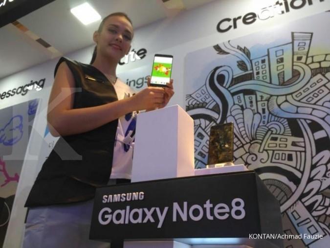 Samsung Galaxy Note 8 dibanderol hampir Rp 13 juta