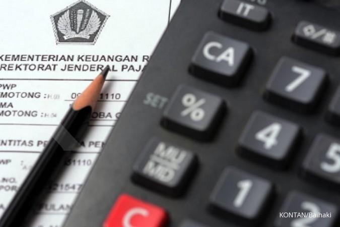 Penerimaan pajak cuma 60% dari target di September