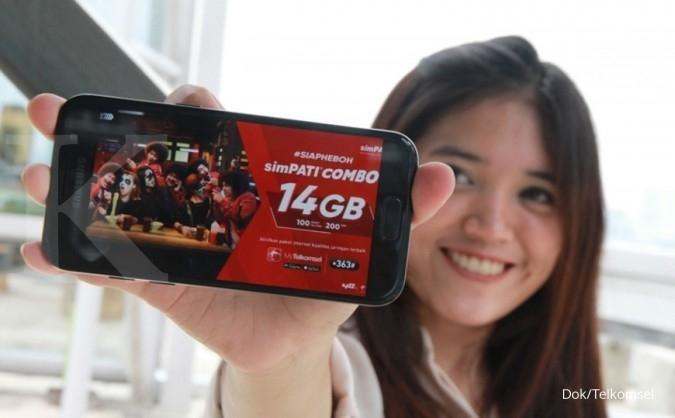 Telkomsel menawarkan program family protect